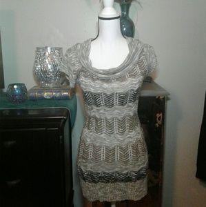 Rue 21 open knit dress